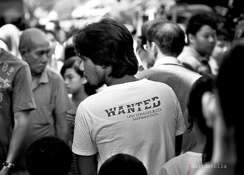 wanted on the street