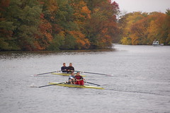 Charles River scullers