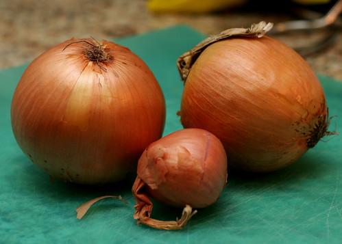Caramelized Onion, Blue Cheese & Arugula Pizza