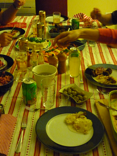 Swedish Xmas dinner in Puerto Rico