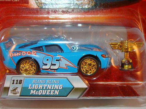 Disney CARS Lenticular Chase Bling Bling McQueen (3)