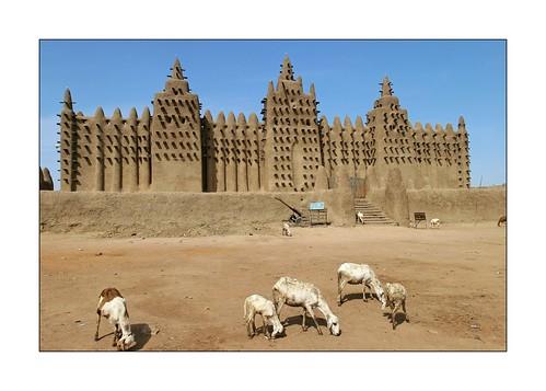 Mali: la mosquée de Djénné.