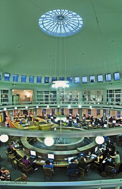 Inside the Orbicular Building