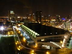 San Diego Convention Center and City Skyline a...