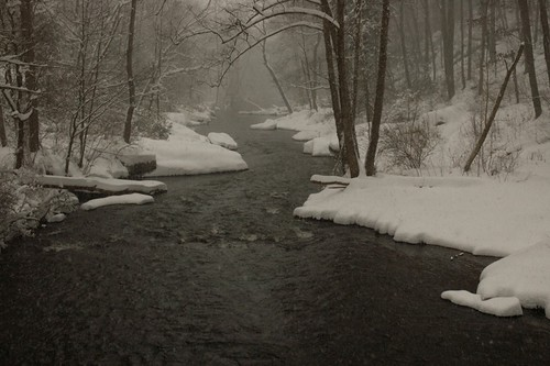 Snowy Gunpowder River