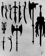 weapon-concept-silhouettes
