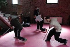 """renaat, fred and puja training 苗刀 miao dao • <a style=""""font-size:0.8em;"""" href=""""http://www.flickr.com/photos/49126569@N07/4522048936/"""" target=""""_blank"""">View on Flickr</a>"""