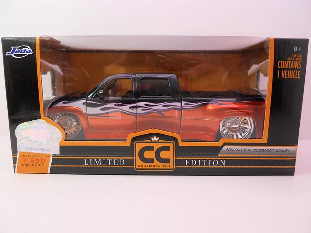 jada toys 1999 chevy silverado dooley collectors edition (1)