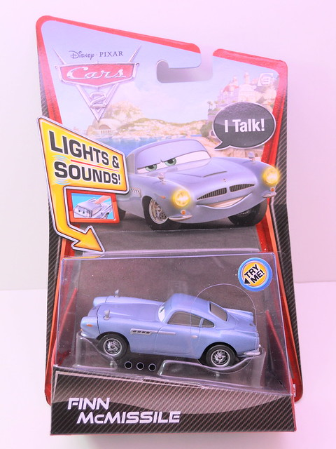 disney cars 2 lights and sounds finn mcmissle