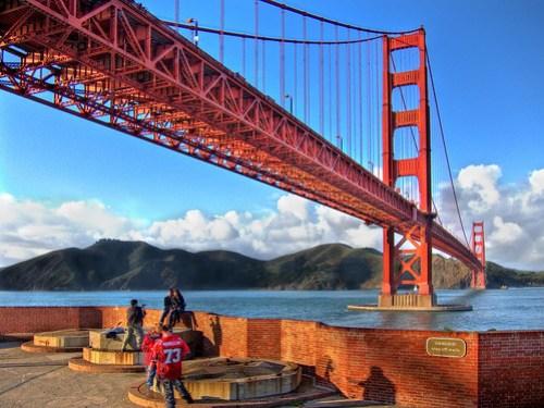 Golden Gate Bridge (Canon PowerShot S90 HDR)