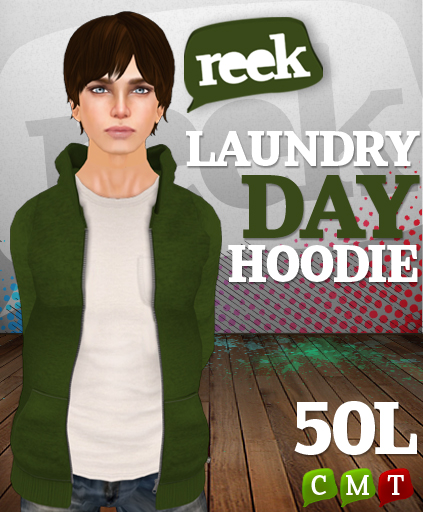 Reek - Laundry Day Hoodie Ad - 50L Friday!
