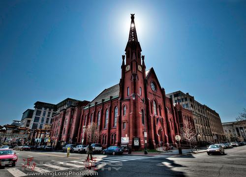 Washington DC Church HDR