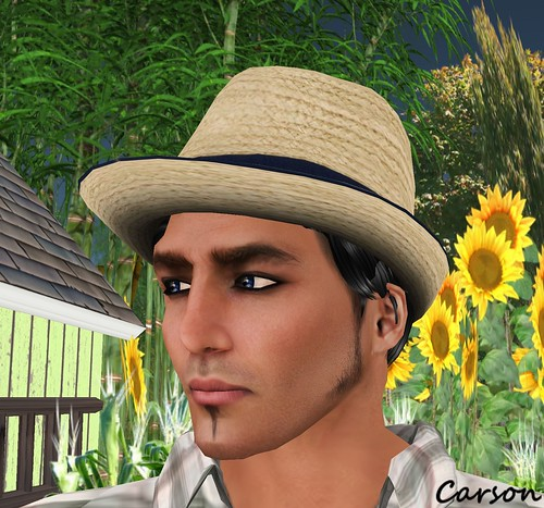 sf design - Sunhat with Color Change Hair