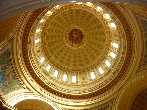 WI, Madison 4 - Capitol Dome inside