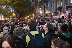 Uni brennt Demonstration Wien