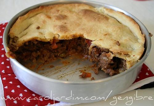 31. Torta Clássica de Carne Moída com Cebola