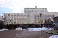 Weisses Haus, Regierungssitz von Russland in M...
