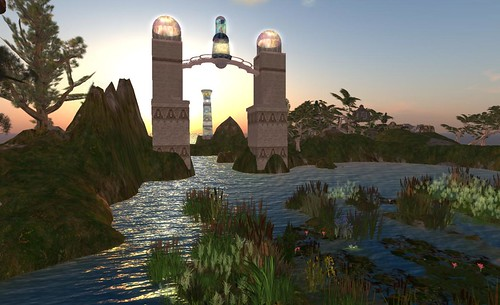 Faelf Lands of The Sidhevairs in Inworldz