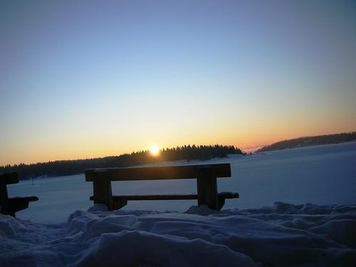 Sunrise over Kalvøya