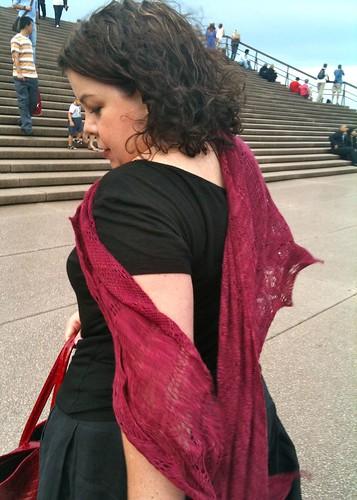 Icarus on Opera House Steps
