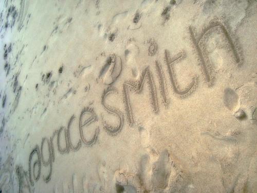 Username On Beach