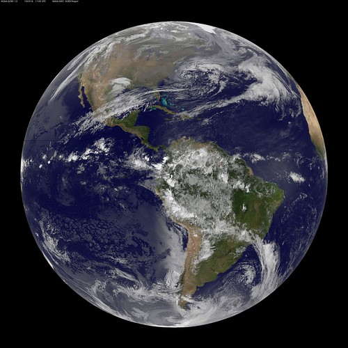 GOES 12 Full Disk view March 16, 2010 by NASA Goddard Photo and Video.