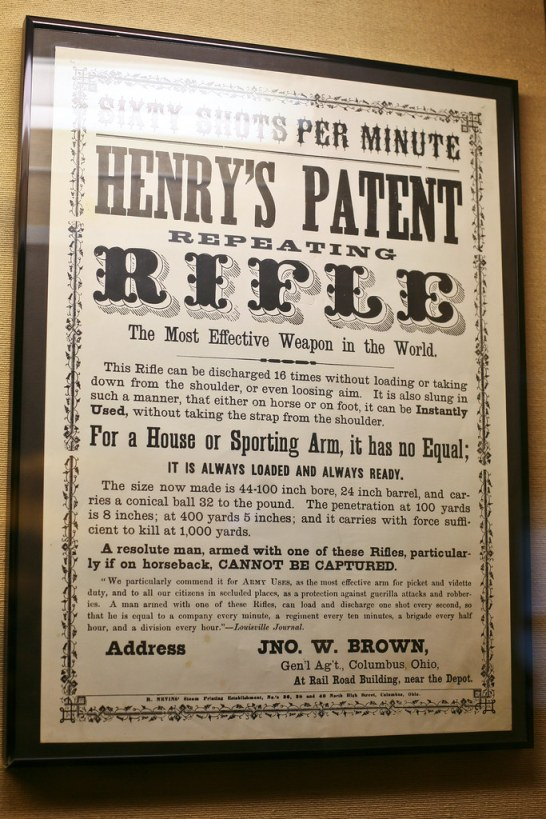 Henry's Patent Rifle: The Most Effective Weapon in the World