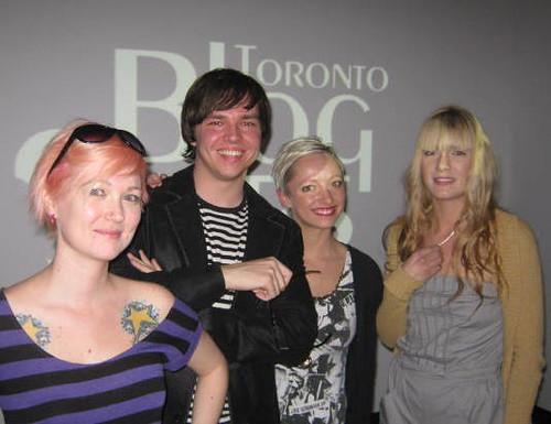 Blogstars at the  Fairlie Agency, Sean Ward, Casie Stewart, Raymi the Minx.