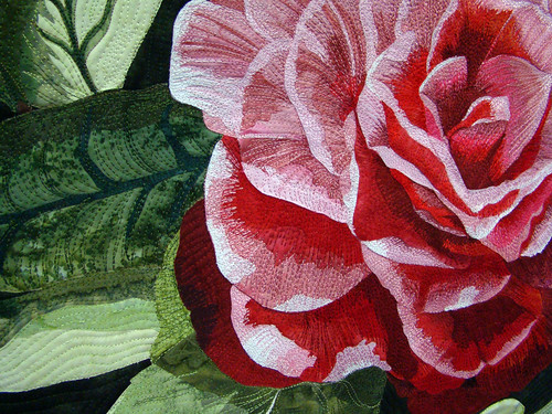 DSC02778 Quilt 3005 Camellias in my Garden by Janis Arredondo by  godutchbaby.