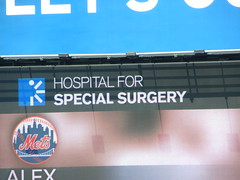 Hospital for Special Surgery Sponsoring Mets A...