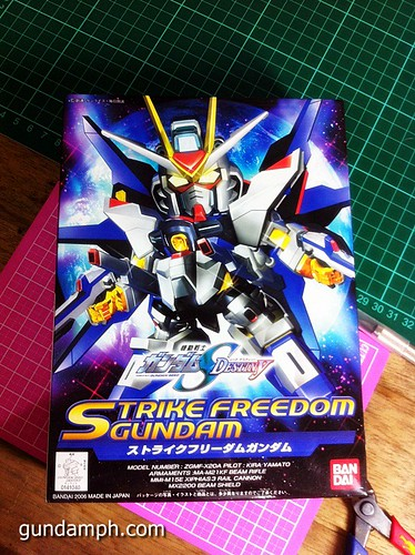 SD Strike Freedom Gundam (2)