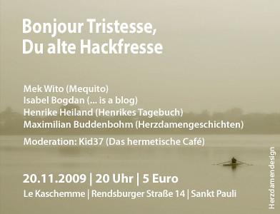 Bonjour Tristesse - Neue Location!