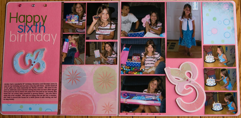 happy sixth birthday