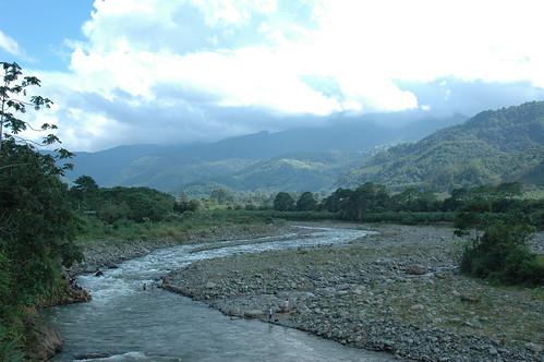 Rio Reventason, Valle de Orosi, Costa Rica