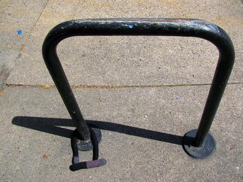 Bike Lock Yarnbomb