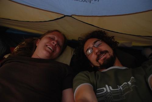 tenting on Maui