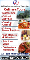 Celebrations International Travel - Custom Culinary Tours