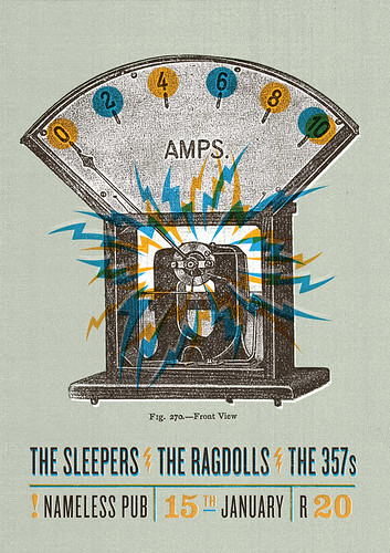 The Sleepers | The Ragdolls | The 357s - AMPS by Adam the Velcro Suit.