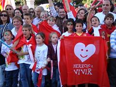 Manifestación por el Derecho a Vivir | 17 de Octubre de 2009