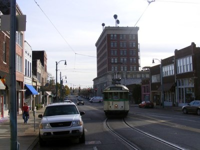 Trolleys in Memphis. acnatta/Flickr