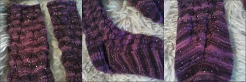Sparkly Socks collage