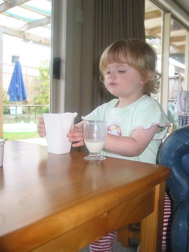 Pouring Milk - II