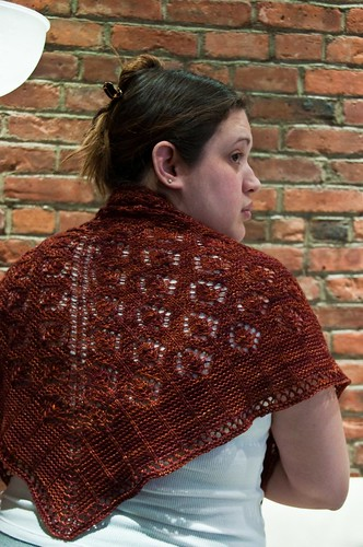 Hamamelis Shawl - FINISHED