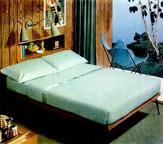 Early '50s Bedrooms (1950-55)