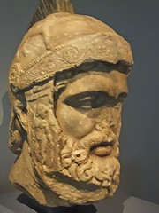 Head of Mars Roman God of War probably a copy ...