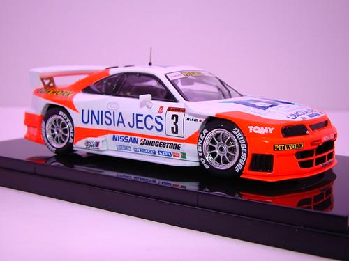 EBBRO UNISIA JECS SKYLINE R33 JGTC 1998 (4)