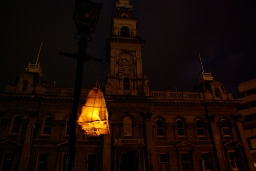 Town Hall, Earthhour Octagon Dunedin, NZ by Samuel Mann