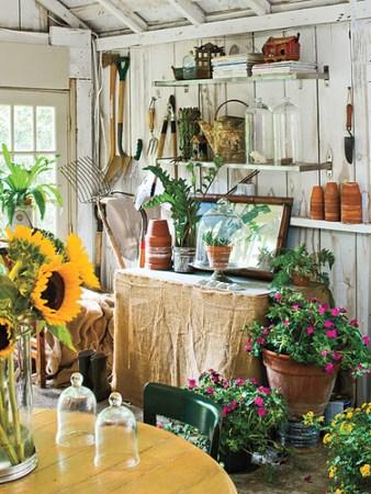 potting shed southern living