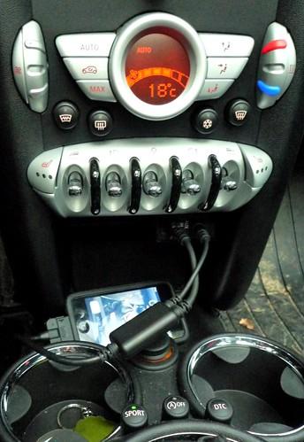 Iphone Oder Ipod Im Mini Unser Mini Clubman Diesel