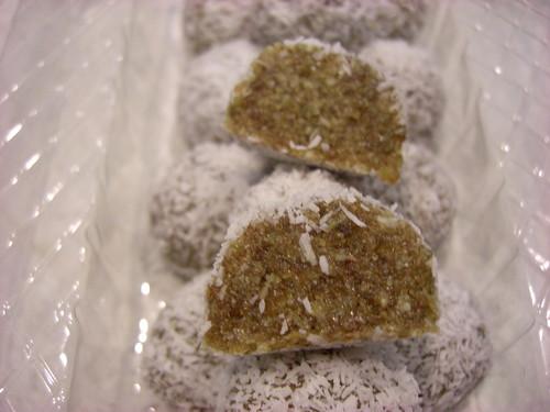 sesame truffles